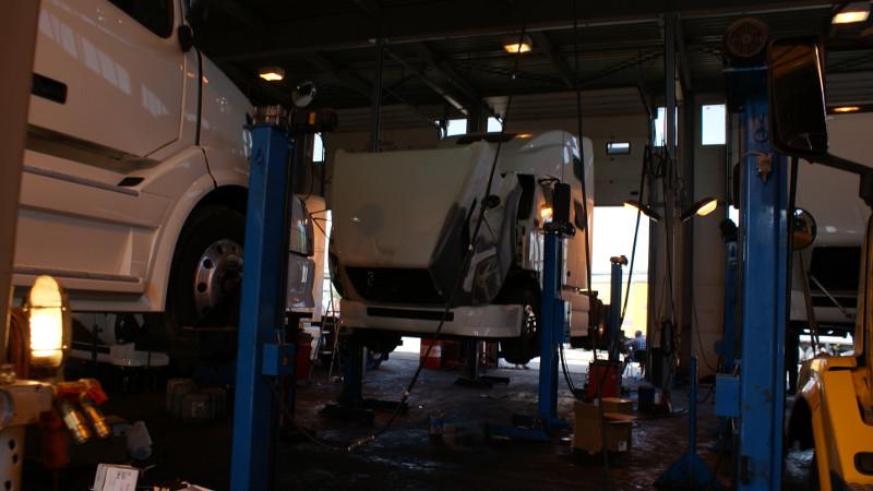 ремонт грузовиков, сервис тягачей, ремонт грузовых автомобилей