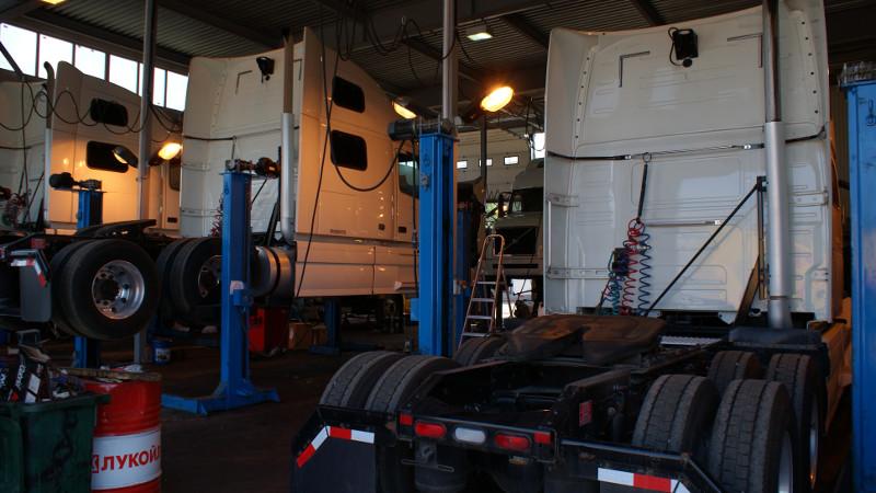 Ремонт подвеси грузовиков, ходовая часть грузовых автомобилей